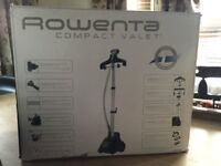 Rowenta Compact Valet / Steamer - boxed and unused