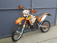 Ktm exc 125 road legal new mot