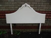 French Louis Style Jarman & Platt Headboard Ivory
