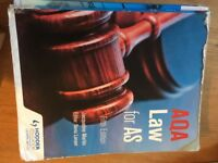 A Level Law AQA for AS