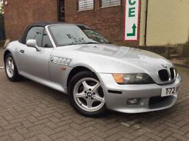 BMW Z3 1.9 Convertible 2dr Petrol Manual (187 g/km, 140 bhp) SIMPLY STUNNING EXAMPLE