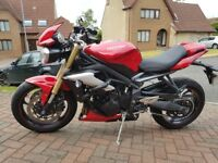Triumph Street Triple ABS 2016 for sale. Brilliant, much-loved bike.