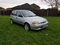 2000 SUBARU JUSTY 4X4 BUSHWAKER IN SILVER WITH 90K MILES AND 10 MONTH M.O.T,