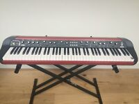 Korg SV1 73 in Original Red. Complete with Rolling Case and Manaul