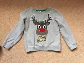 Xmas jumper - Marks & Spencer's age 6-7 years