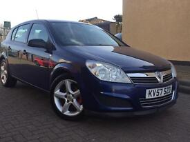 2007 ( 57 ) VAUXHALL ASTRA LIFE CDTi 1686cc HATCHBACK DIESEL 5 DOORS ( BLUE ) 100 % HPi CLEAR