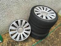 "Audi rs8 alloys 18"" 5x112"
