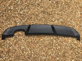 VW Golf Mk6 GTD Rear Diffuser - GTI Style Rear Valance Reiger Style Apron