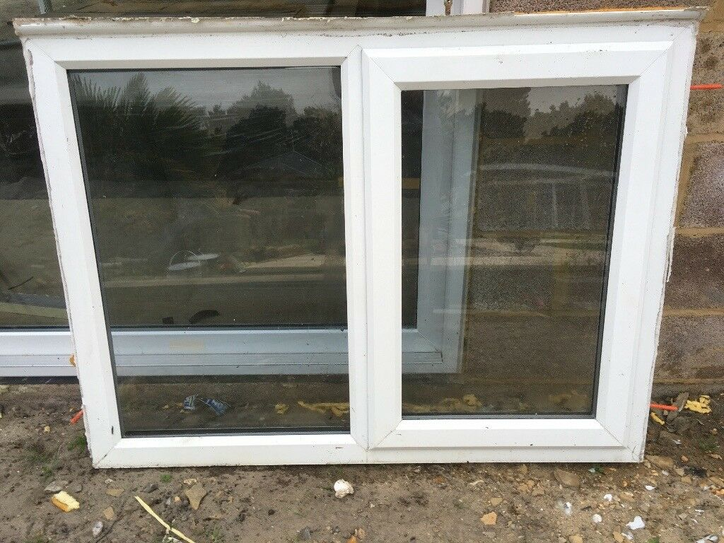 tinted glass window white upvc opening window tinted glass house garage shed in ringwood