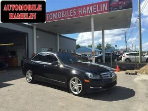 2013 Mercedes-Benz C-Class 350 4MATIC AMG PACKAGE GPS 2 TOIT MAG