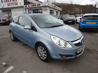 2007 VAUXHALL CORSA DESIGN 1.4 PETROL JUST CHANGED THE CAM BLET AND WATER PUMP AND SERVICE TOO
