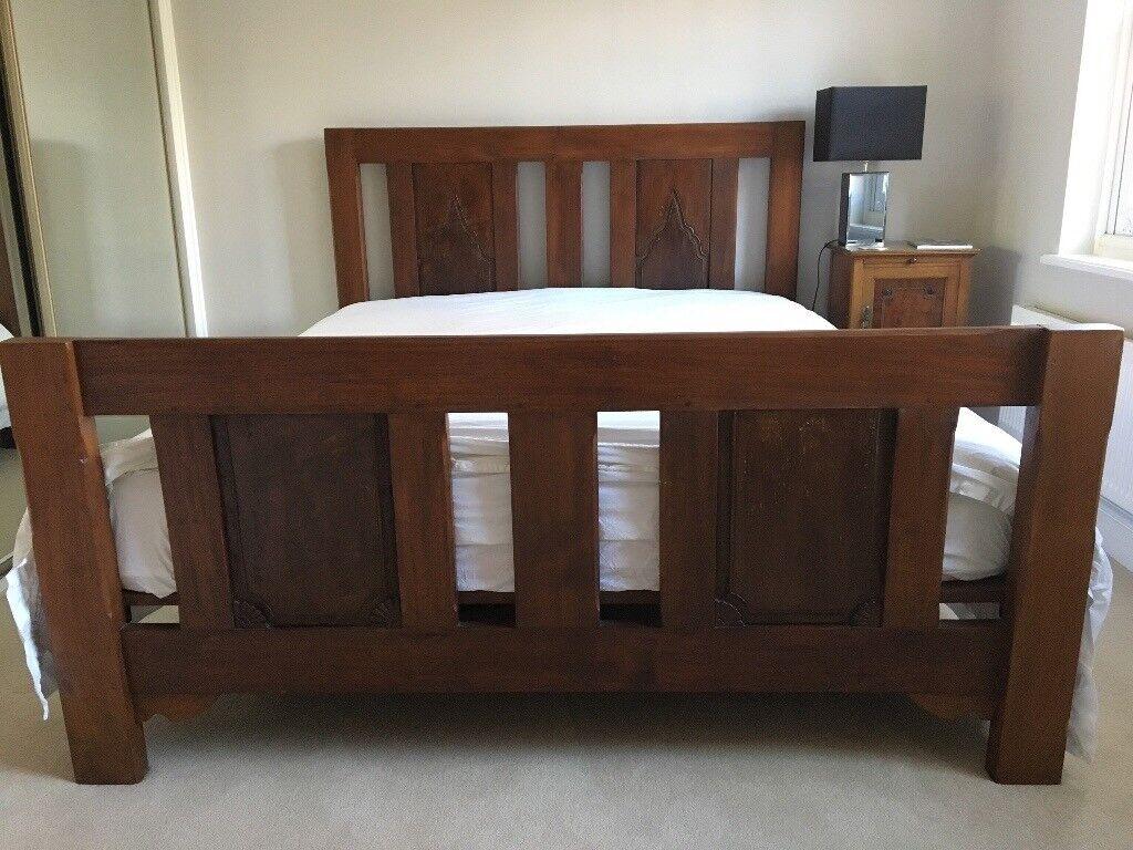 Balinese Teak Wood King Size Bed In Dulwich London Gumtree