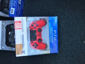 PS4 controllers.