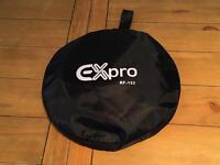 Ex-Pro 32 Inch 5-in-1 Photographic Light Reflector - Silver