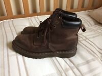 Brown Dr Martens for sale, women's size 5