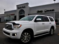 2012 Toyota Sequoia Limited 4x4 Nav Leather Tow Pkg Sunroof Rear