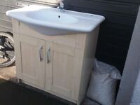 Sink basin unit and taps cheap