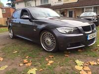 Bmw 320d M sport - automatic - diesel - bbs alloys - tinted - drives perfect - LONG MOT - not audi