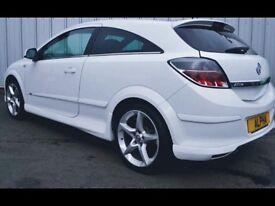 White Vauxhall Astra SRI 1.8 VVT Exterior pack 3 Door Long MOT Low Mileage+XP KIT+AUX+BLUETOOTH