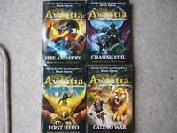 Chronicles of Avantia set of 4 books by Adam Blade