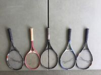 Assortment of Sports Equipment- Cricket, Tennis, Basketball and Hockey.