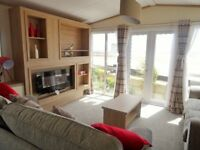 Brand new Regal Harlington 2017 40/13/2 bed with Full Decking and Sea view WOW!!!!