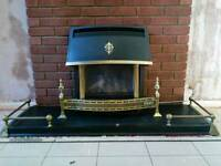 Valor Homeflame Log Effect Gas Fire - Balance Flue