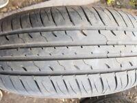 195/65/15 part worn tyre