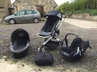 Quinny buggy and travel system