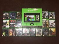 XBOX ONE CONSOLE WITH 18 GAMES