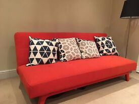 Nearly new Sofa Bed from MADE