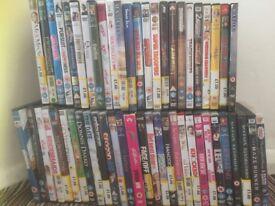 57 DVD's