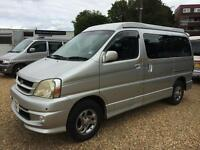 Toyota Touring Hiace Mistral Camper (silver) 2001