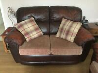 Free. 2 Seater sofa and recliner
