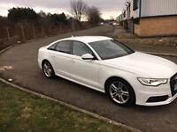2012/12 Audi A6 S-Line✅2.0 TDI CVT✅8Speed automatic✅ in white HPI CLEAR