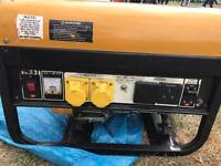 Wolf WP3500LR 3200Watt 6.5HP, 4 KVA Dual Voltage Petrol Generator
