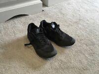 Black Nike Air Max Trainers