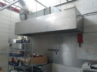 Catering equipment commercial ventilation canopies