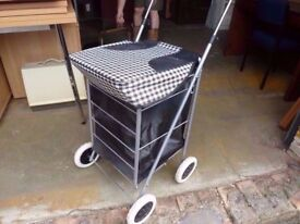 Shopping Bag Trolly On Wheels Delivery Available