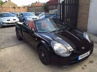 Toyota MR2 1.8 VVT-i Roadster 2dr£1,399 p/x welcome CLEAN CAR, FULL HISTORY