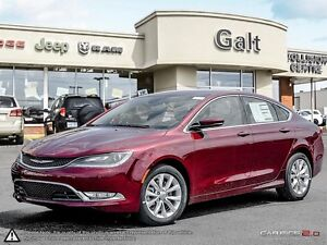 2016 Chrysler 200 | C | X COMPANY DEMO | LEATHER | HEATED SEATS