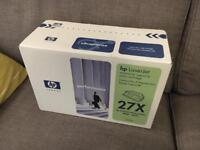 Free - HP 27X Toner Cartridge