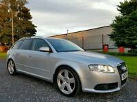 2007 Audi A4 Avant 2.0 TDI S Line, FULL LEATHER! BOSE SOUND! FACTORY XENONS! FULL YEARS MOT!