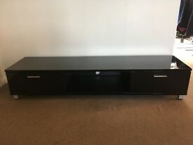 TV black high gloss cabinet
