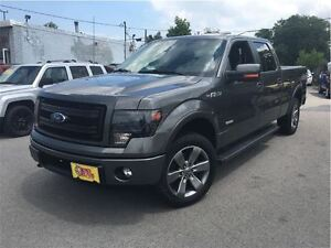 2014 Ford F-150 FX-4 PACKAGE 4WD LEATHER SUNROOF 20INCH MAGS CRE