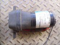 Jabsco model No 31631 12v water pump