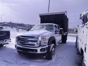 2013 Ford F-550 CHASSIS CAB Dump Truck | Crew Cab | PL/PW