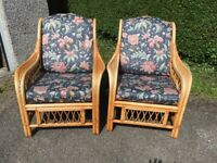 Beautiful, immaculate conservatory chairs x 2