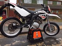 65 Plate Derbi Senda 125SM Mint condition, only 6500 miles