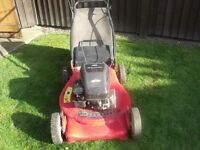 Petrol Lawnmower Briggs and Stratton